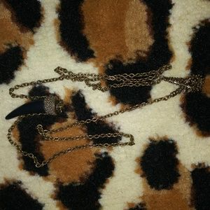 Dragon tooth necklace